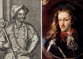 Sultan Muley Ismail and King Charles II.