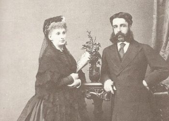 Sophia Troubetzkoy and her husband, the Duke of Sesto.