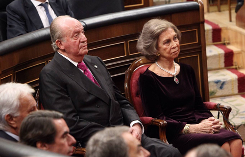 The King recognized the role of his father, Juan Carlos I, in the consolidation of the parliamentary monarchy with the support of Queen Sofia. / Photo: House of HM the King